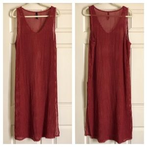 Urban Outfitters Swim Maxi Coverup Small